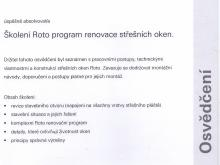 Rozšířený kurz ROTO